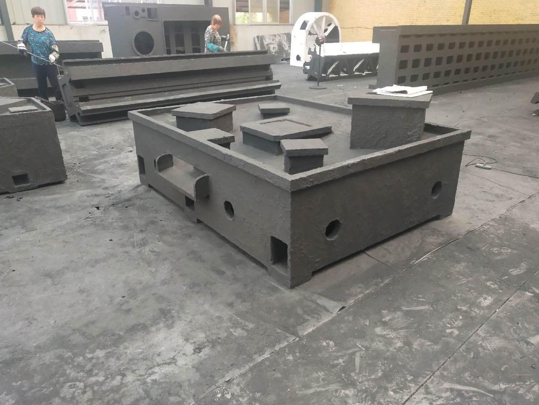 铸造机床底座铸件数控床身铸件泊头铸造厂
