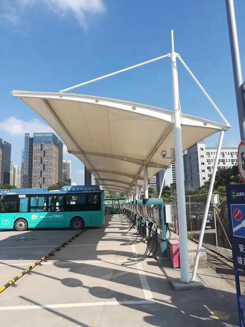 新疆膜结构车棚优质厂家