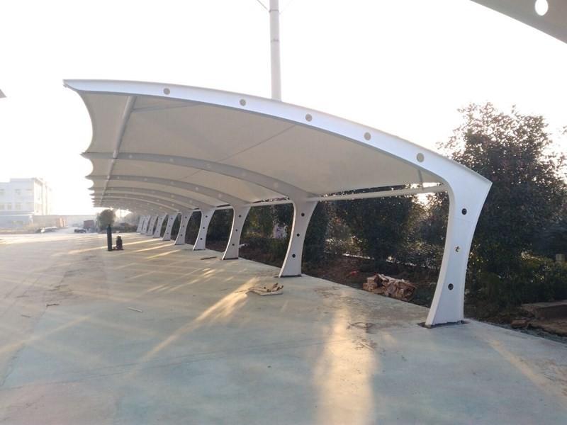 哈密膜结构自行车棚一对一定制生产