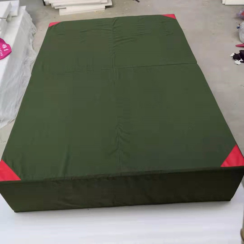 阳春学校折叠体操垫使用方法