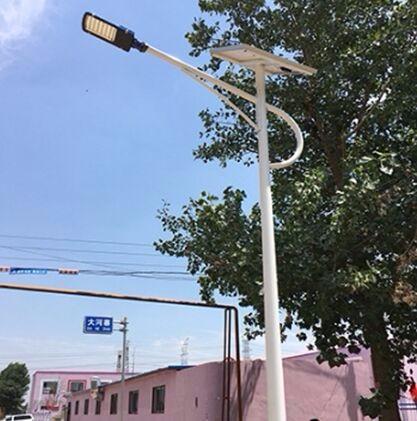 磁县太阳能5米高路灯带杆全套卖价
