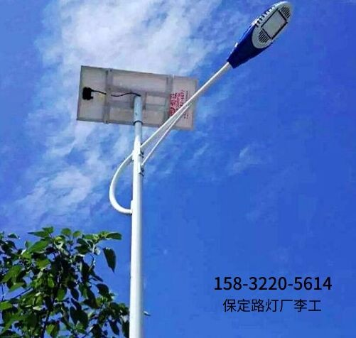 晉州6米30瓦太陽能路燈不亮了怎么修