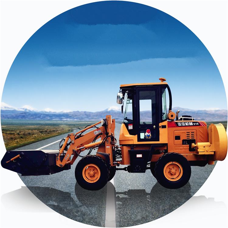 揭阳铲车改装扫路机-散热稳定