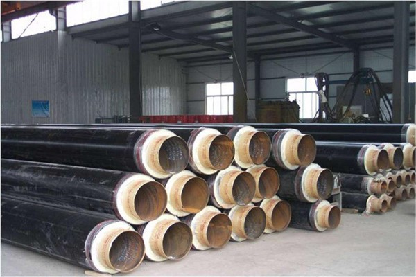 Heating polyurethane direct buried insulation steel Linqing honest factory