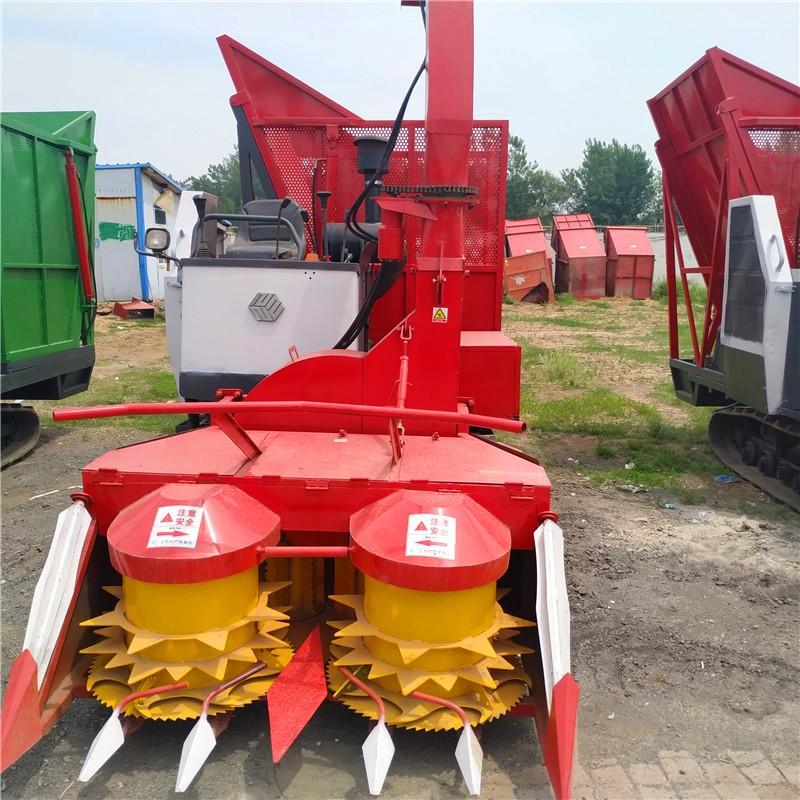 牧草收割机二手玉米粉粹青储机