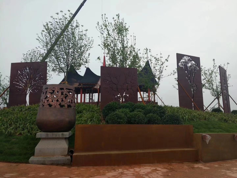 延安耐候钢板生产加工中心耐候板基地耐候钢板专业加工厂家