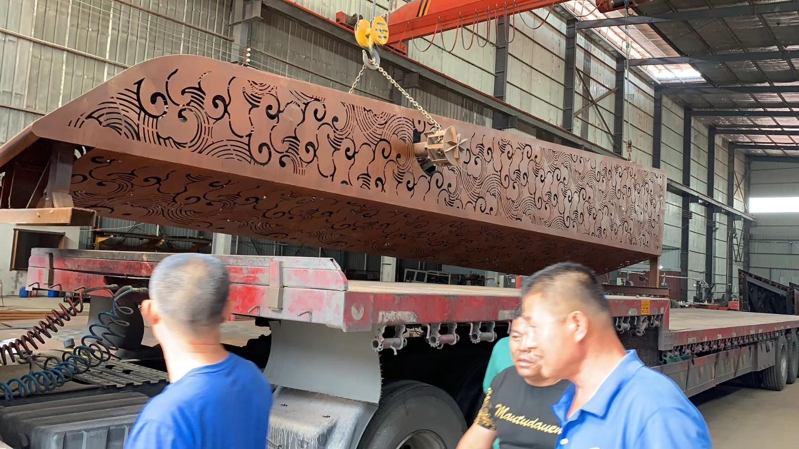 泰安耐候钢板镂空雕刻厂家报价