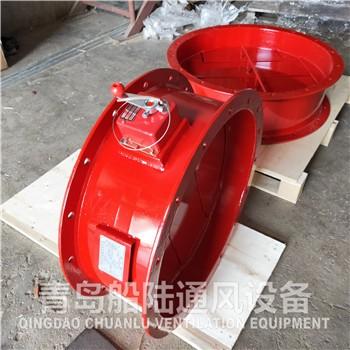 船用手动防火风闸厂家在线报价-江西景德镇-青岛船陆通风设备
