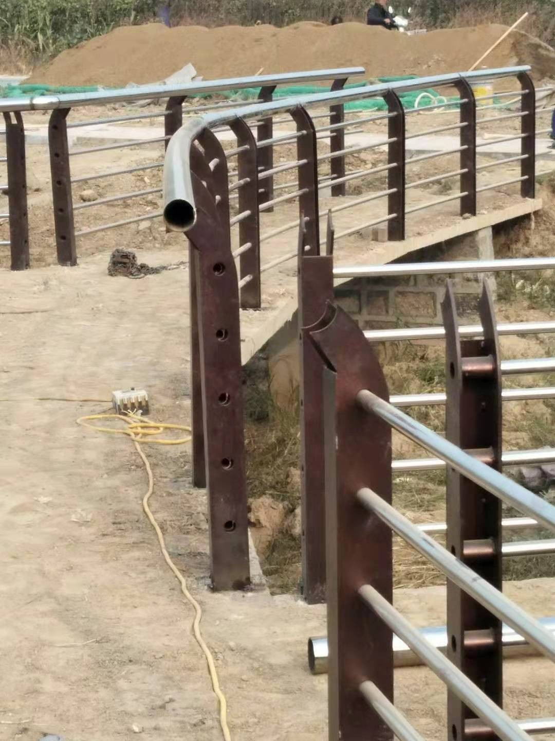Quality and quantity of cable guardrail in Hegang Scenic Area
