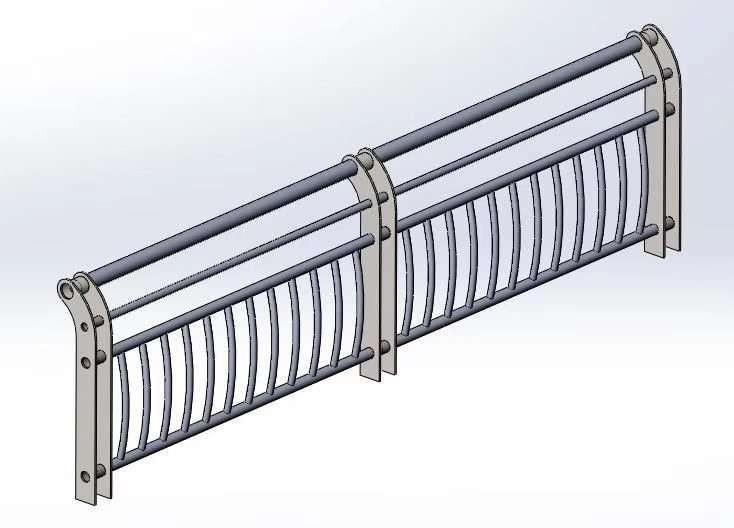 山西201不锈钢复合管梯道防护栏杆服务至上