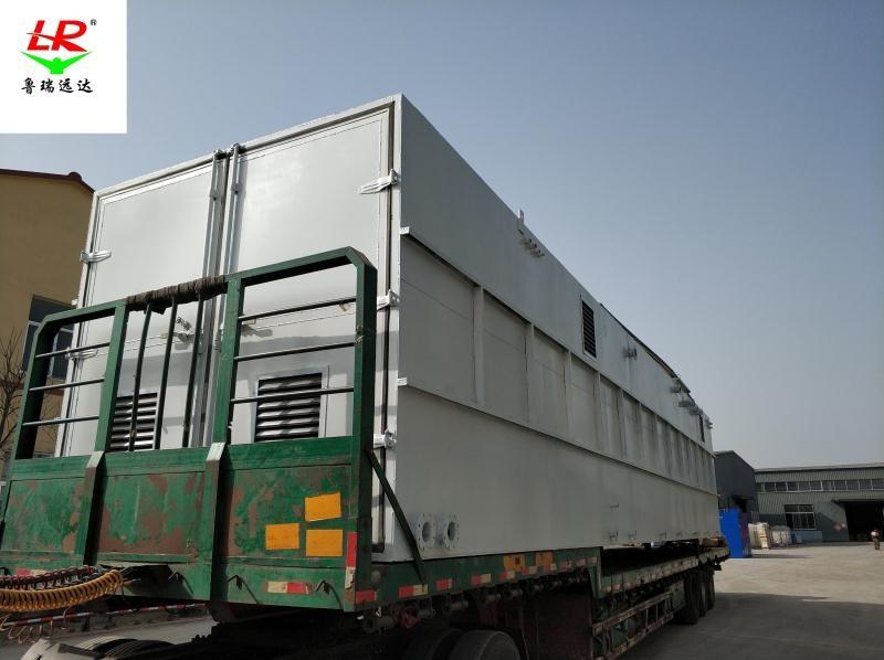 山东潍坊瑞泉酒厂污水处理设备来图定制