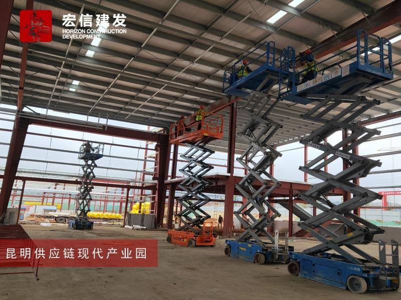 滁州南谯附近有没有剪叉升降机出租的【厂房建设用】