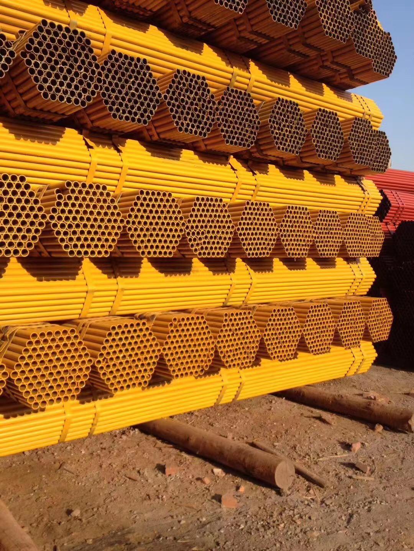 儋州市建筑钢管安装简单