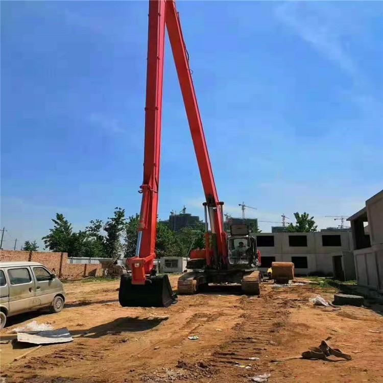 河北邢台加长臂挖掘机租赁联系方式