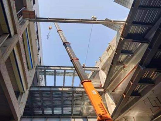 凌源市25-150噸吊車出租服