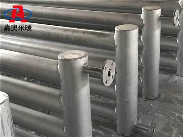 D108*3000*4蒸汽光排管暖气片法库