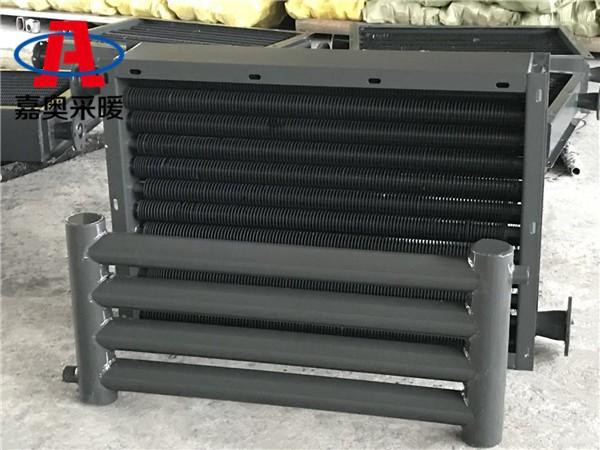 D89-3-3三柱光排管散热器新民