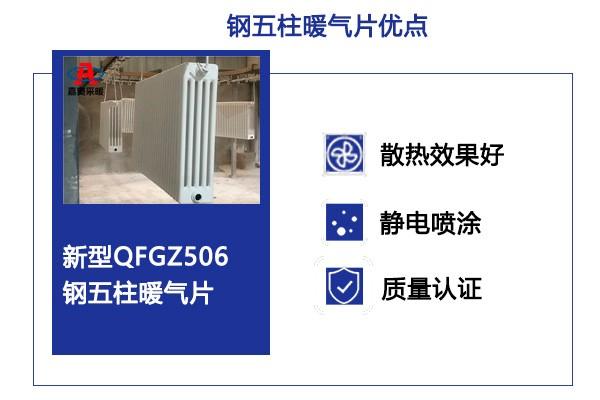 qfgz509钢制五柱形暖气片高淳