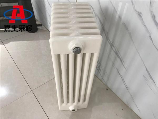 gz607钢制圆管柱型暖气片元谋