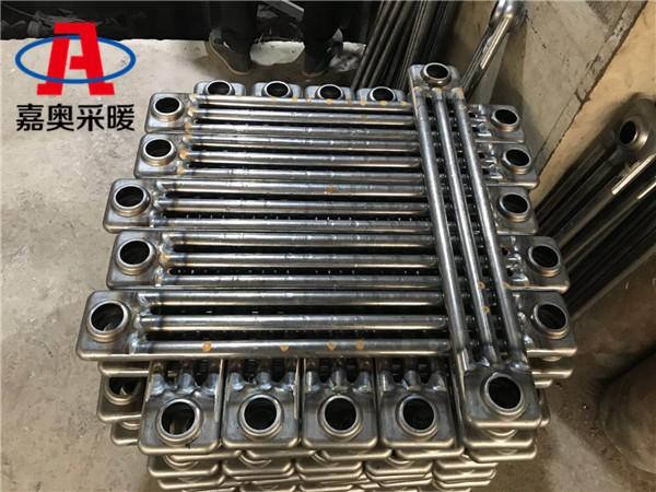 西平钢三柱散热器效果钢管三柱型散热器规格