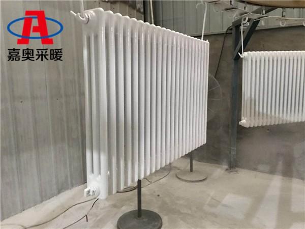 安塞q9b06型钢管三柱型散热器钢制柱式暖气片规格