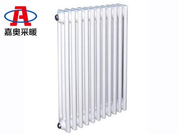 三明钢管柱型306散热器钢管柱型散热器外型厚度尺寸标准