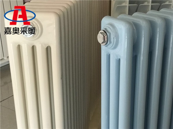 岳阳钢制三柱3097型散热器钢管柱型散热器外型厚度尺寸标准