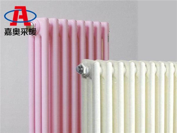 富裕钢制圆管三柱型散热器钢制散热器型号参数