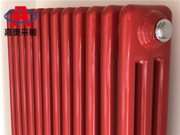 达县钢管柱形散热器GGZ306钢管柱型暖气片供应