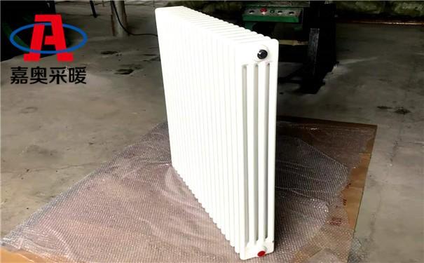 龙江四柱型散热器QFGZ406钢制柱式暖气片图片