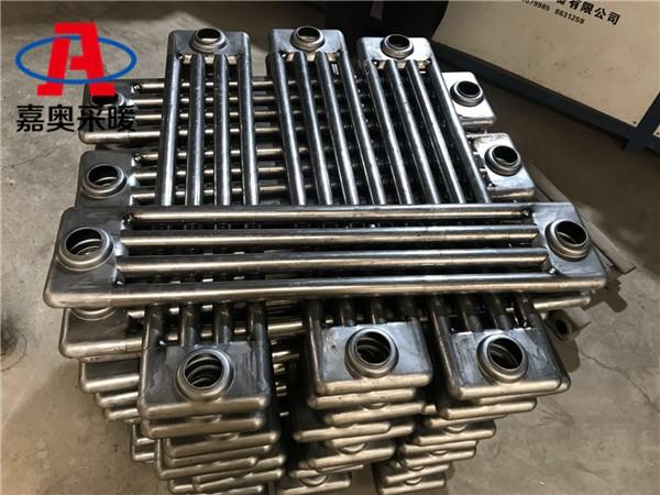 涞源钢管四柱散热器gz409钢管柱型散热器图例