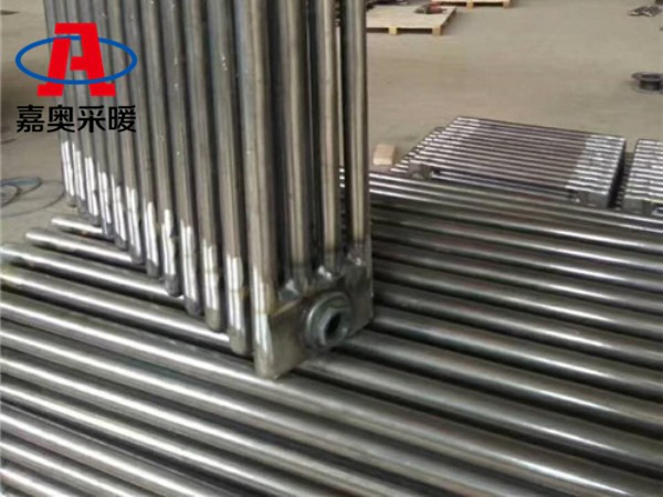 河间QFGZ406型钢管柱型散热器钢制柱式散热器使用年限