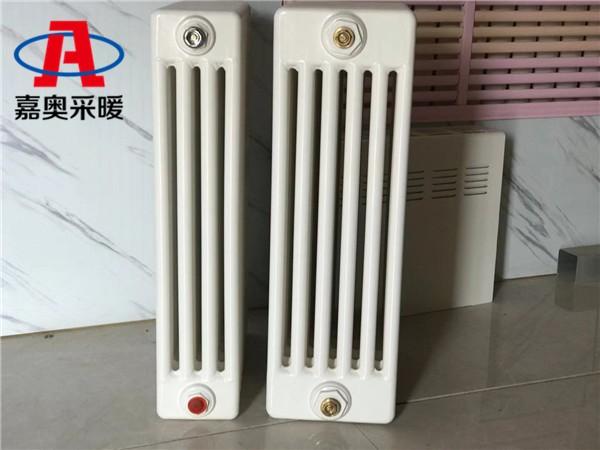二连浩特钢四柱暖气片406钢制柱式散热器型号