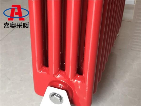 北流GG4060钢管四柱型散热器学校用钢四柱散热器