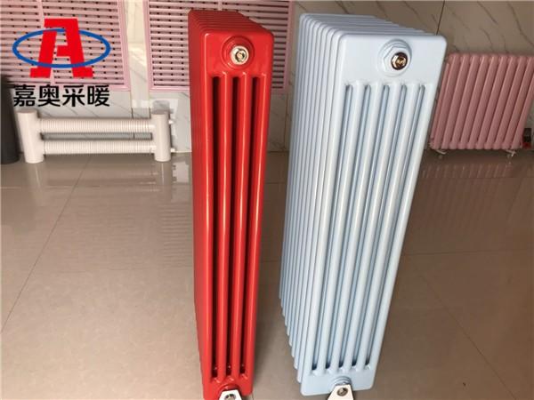 灯塔钢制暖气片四柱406钢制四柱散热器