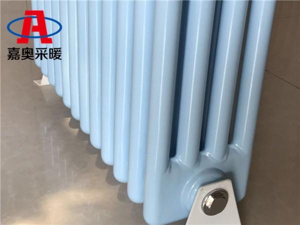 双辽钢管柱型散热器qfgz404钢制柱式四柱散热器