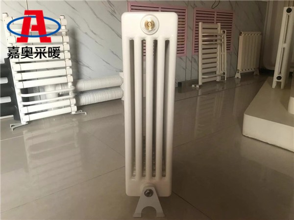 蠡县钢管柱型散热器gz509钢制柱翼型散热器型号
