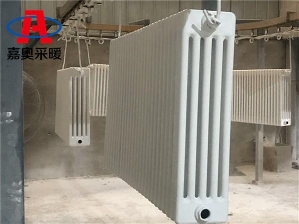 彬县钢管柱型散热器gz509钢管柱形散热器型号600中十柱