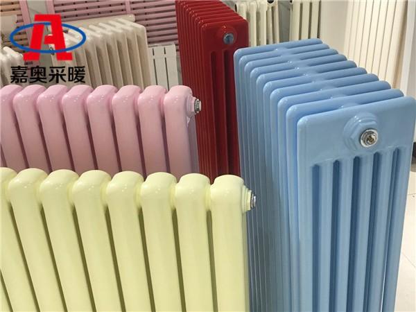 安陽鋼制柱型管散熱器gz606鋼管柱式散熱器散熱量計算