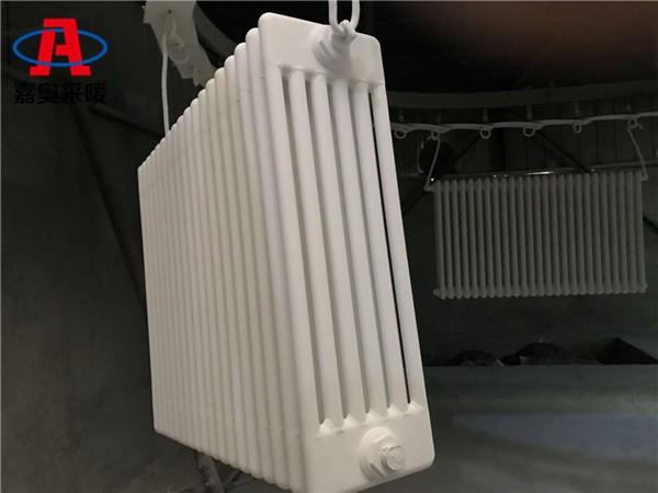 梅州6柱609型钢管柱式节能散热器钢管柱式散热器厂家