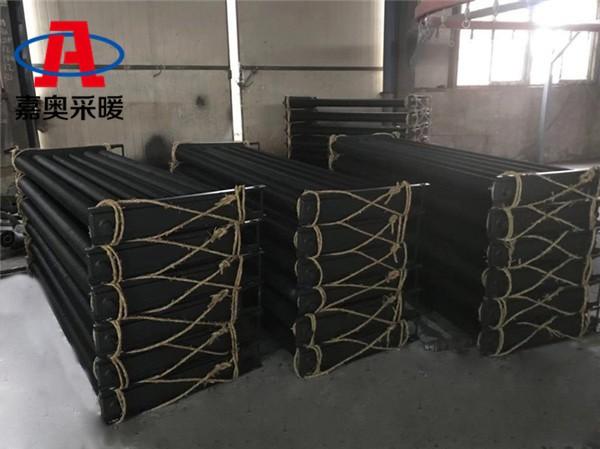 康定grs1200-25-1.2钢制高频焊翅片散热器散热量