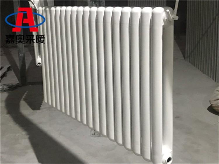 三台方头钢二柱散热器工程用钢制暖气片