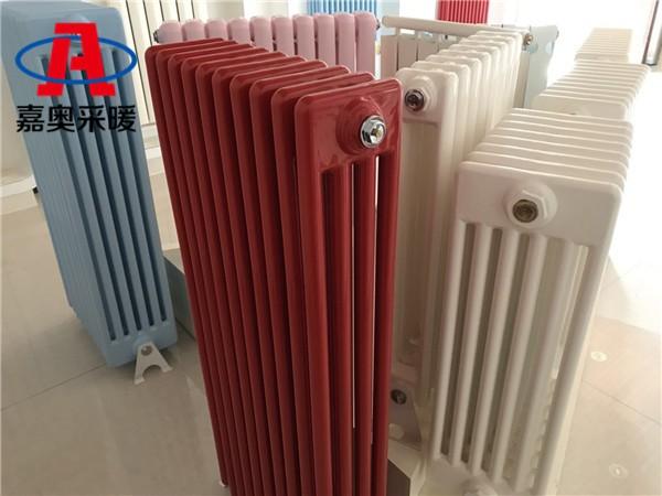 临高钢管柱式散热器gz406钢制散热器型号大全
