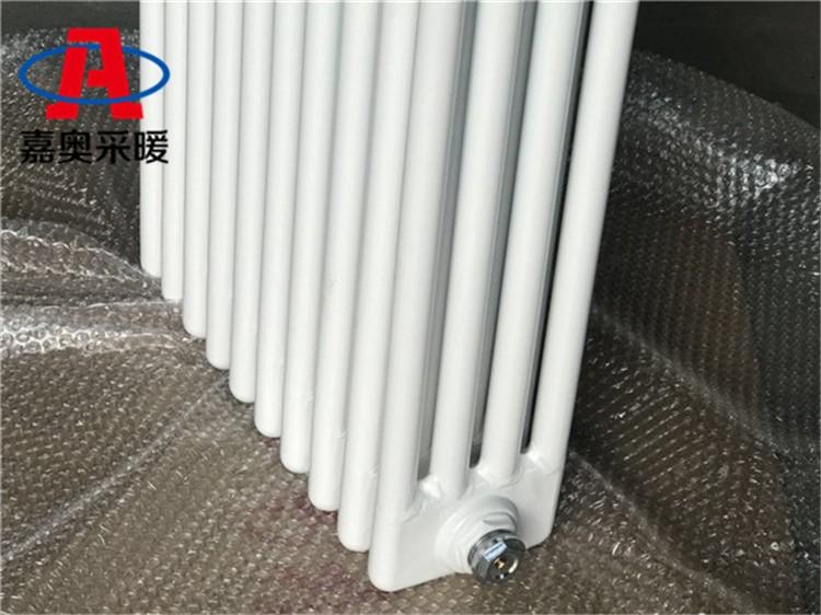 寿县钢管柱形散热器GGZ306钢制暖气片每柱价格