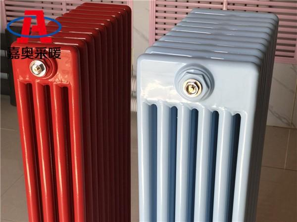 祁阳钢管四柱406型散热器钢四柱散热器支架