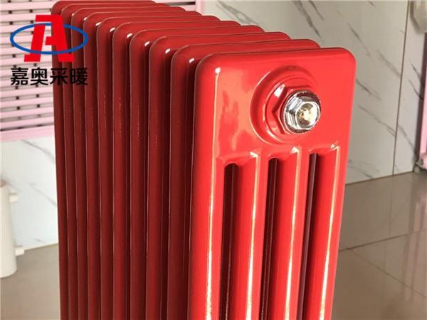 冀州钢管四柱散热器gz409钢制柱式散热器生产厂家