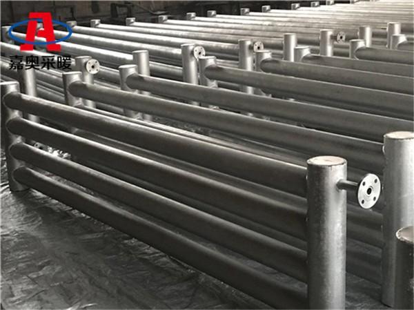 桂光面管散熱器d108*4000*6三柱光排散熱器