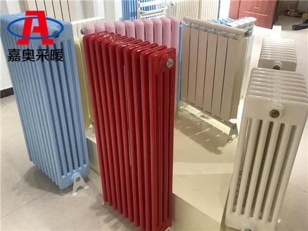 宣汉gz406型钢制散热器国标钢四柱散热器