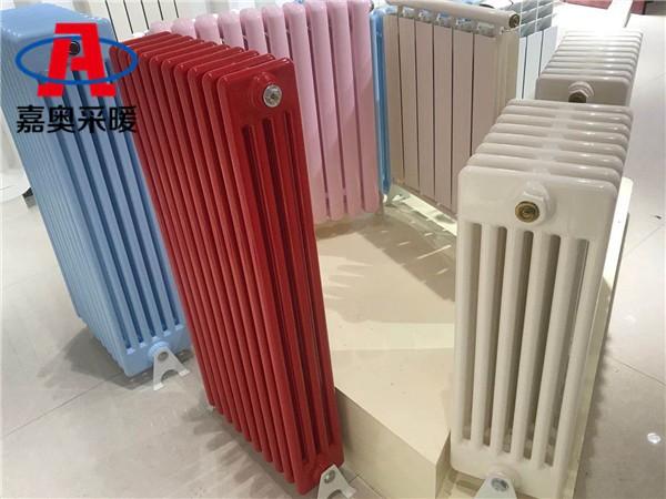 芦山钢四柱暖气片钢管柱式散热器散热量计算