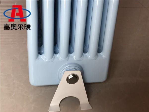 滦平钢制柱形六柱散热器25片/组钢制椭圆形暖气片